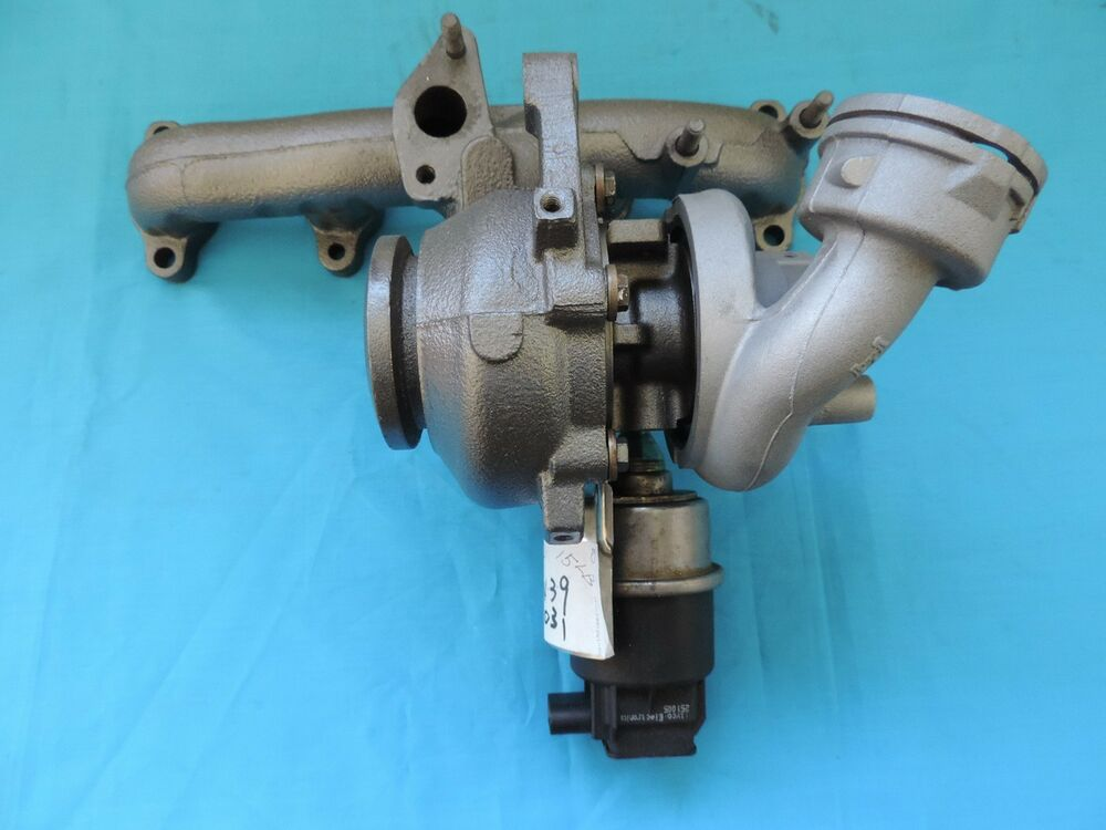 2005-2006 VW Volkswagen Beetle Jetta A5 1.9L TDI BRM Turbo Charger By New CHRA | eBay