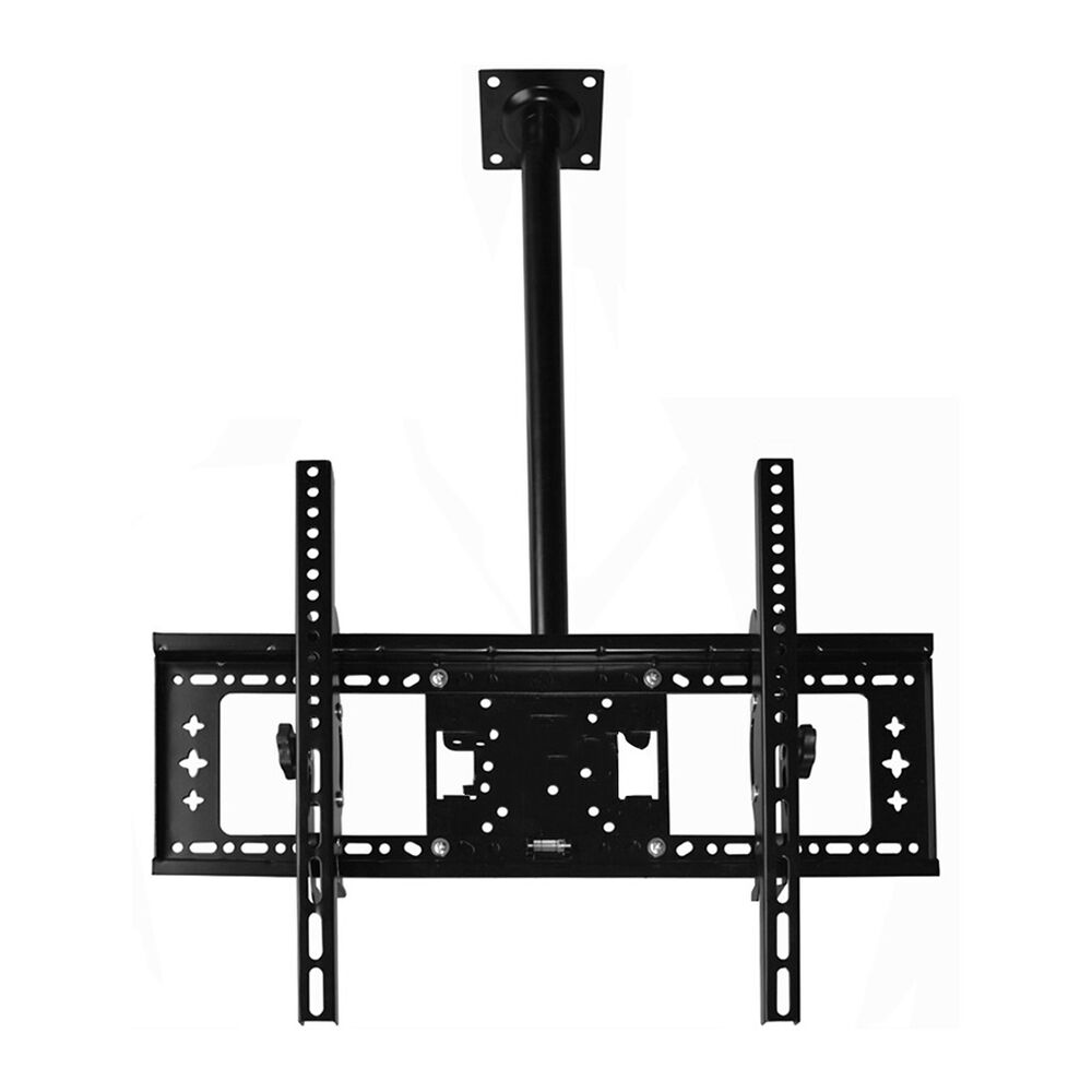 ceiling tv mount 39 40 43 46 48 50 55 60 lcd plasma led tilt swivel bracket ebay. Black Bedroom Furniture Sets. Home Design Ideas