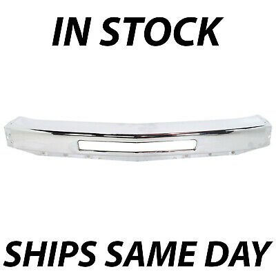 NEW Chrome Steel Front Bumper Impact Face Bar for 2007-2013 Chevy Silverado 1500