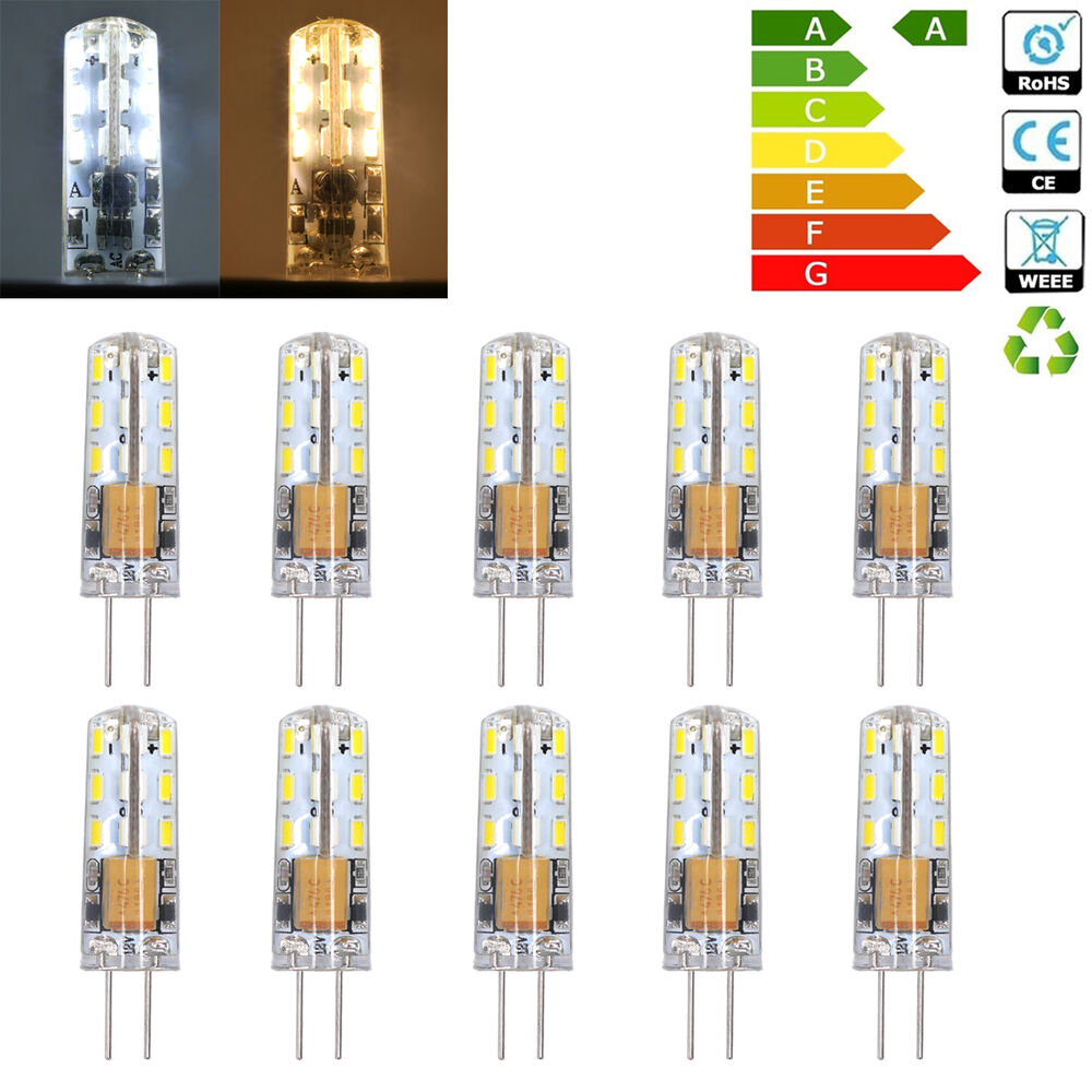 g4 1 5w led small capsule bulbs replace halogen lamps light bulb light ac dc 12v ebay. Black Bedroom Furniture Sets. Home Design Ideas