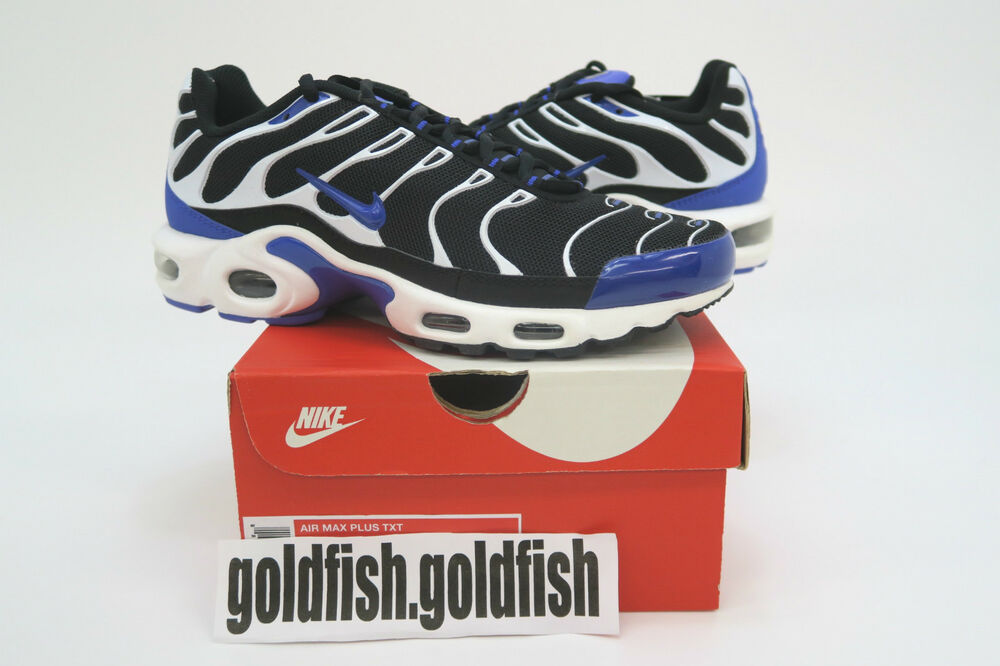 888b4a21ac DS NIKE AIR MAX PLUS TXT TN TUNED QUILTED PERSIAN VIOLET BLACK WHITE 647315  051 | eBay