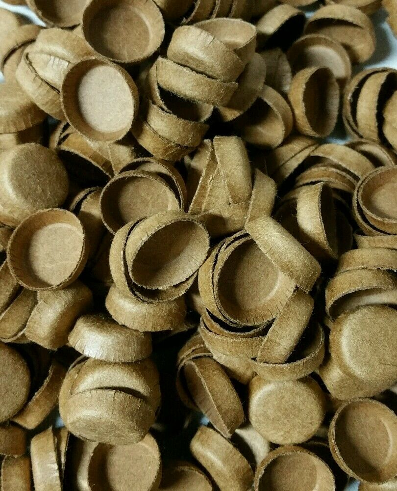 50 new fireworks kraft pyro paper plugs for tubes end caps for Kraft paper craft tubes