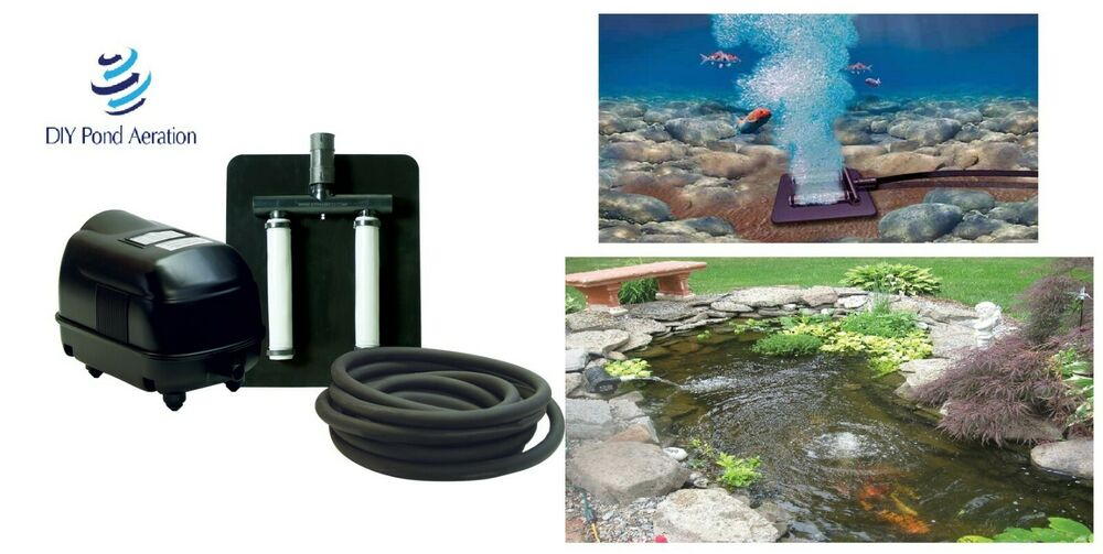 new septic pond aerator kit  diffusers