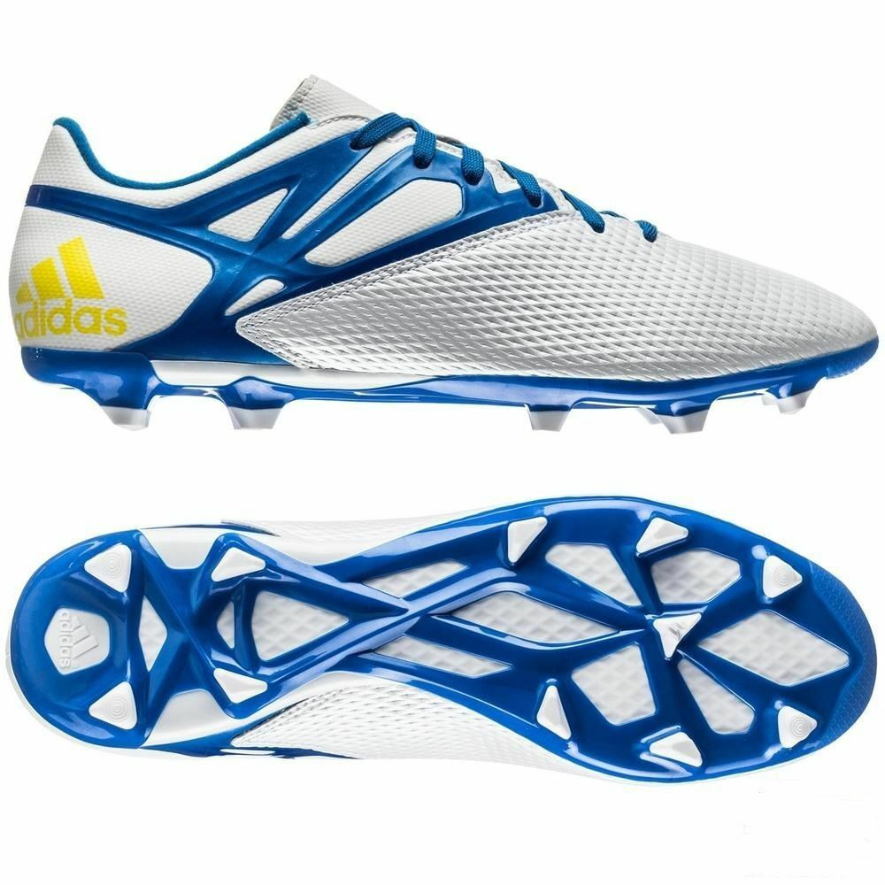 f31169b55 ... closeout details about adidas messi 15.3 fg ag firm artificial ground soccer  shoes running white 66d31