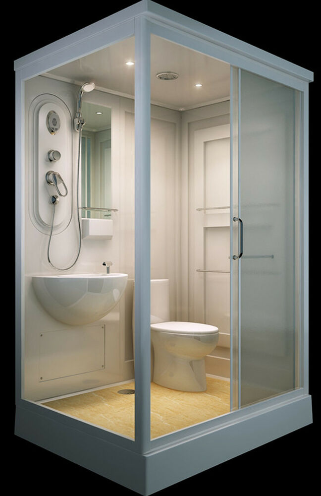 ALL IN ONE Flat Pack Modular Shower Room,Toilet, Basin ...