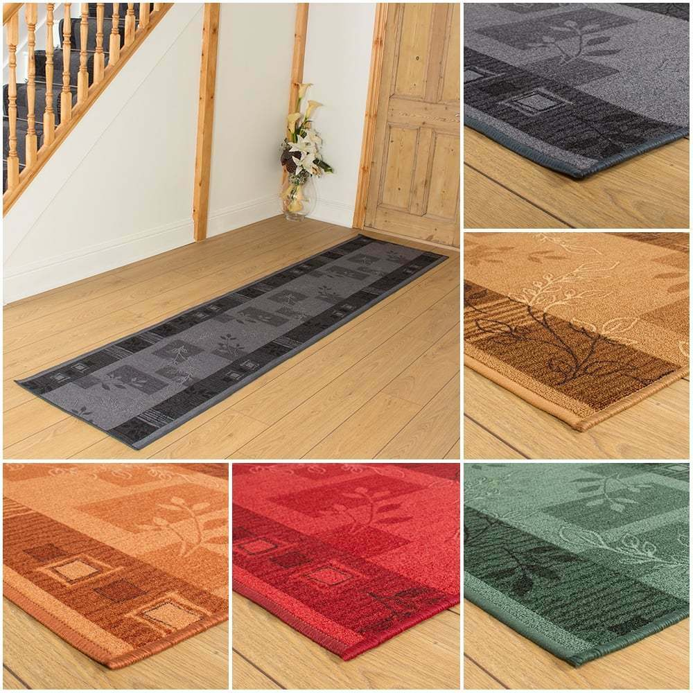 agadir anti non slip long cheap floor carpet runner rug mat for hall hallway ebay. Black Bedroom Furniture Sets. Home Design Ideas