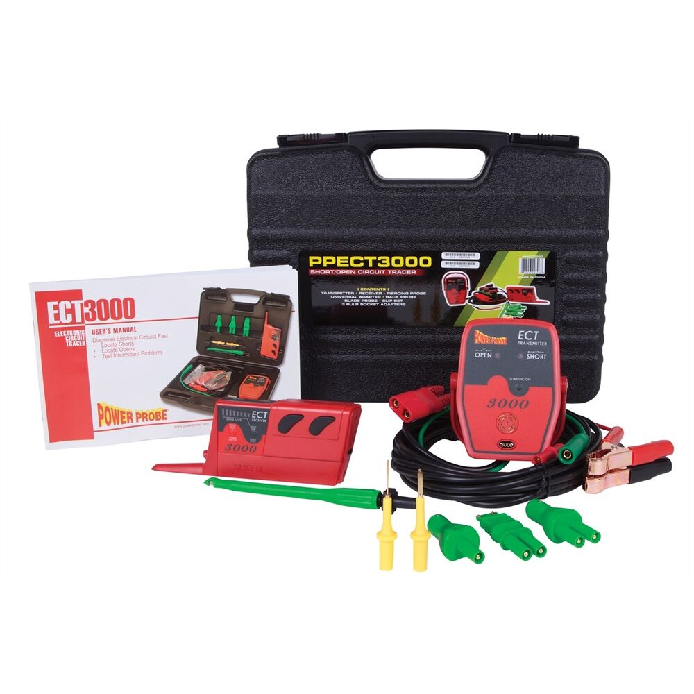 Power Probe Ect3000 Short Finder Open Circuit Tracer Kit Brand New Details About Tester Ect2000 Release Ebay