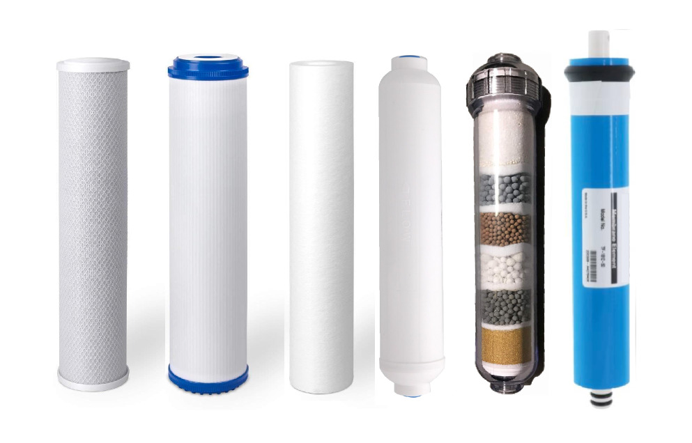 Replacement Filters Amp 75 Gpd Membrane Set 6 Stage Reverse