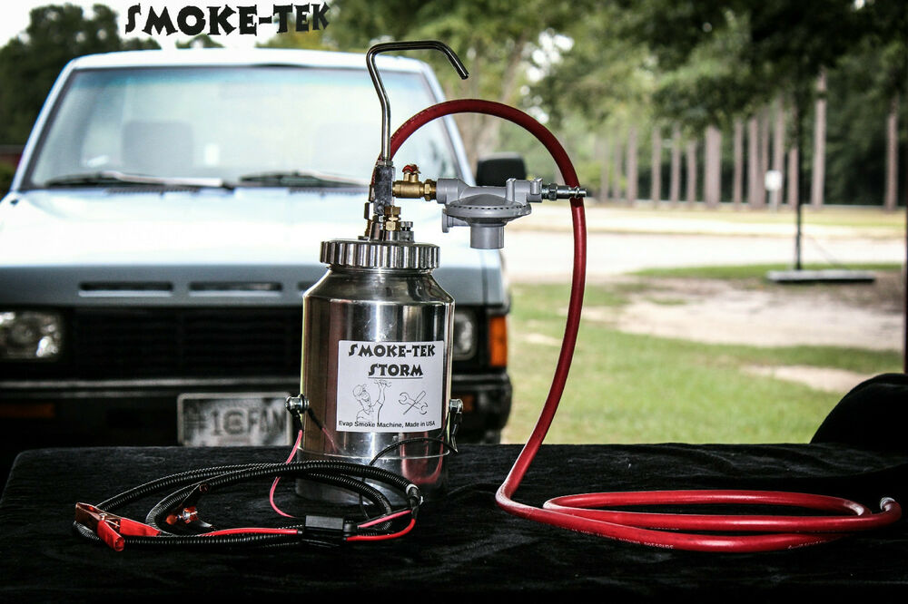 smoke machine evap tester
