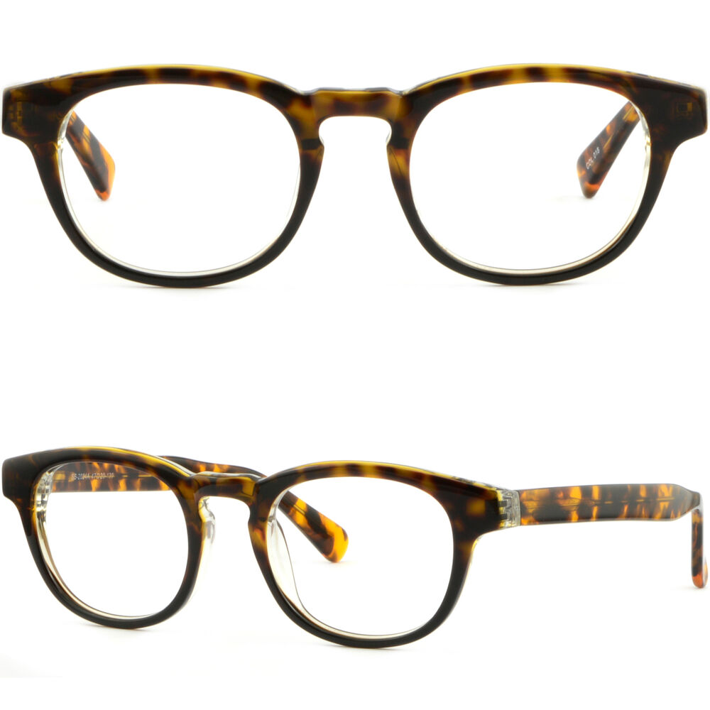 Glasses Frames With Thick Arms : Thick Mens Womens Acetate Frame Prescription Glasses RX ...