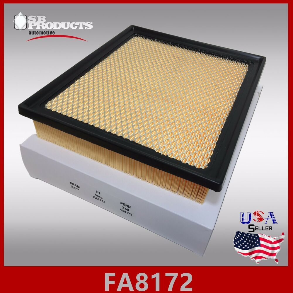 fa8172 ca11895 wa10085 engine air filter 2014 17 toyota tundra v8 4 6l 5 7l ebay. Black Bedroom Furniture Sets. Home Design Ideas