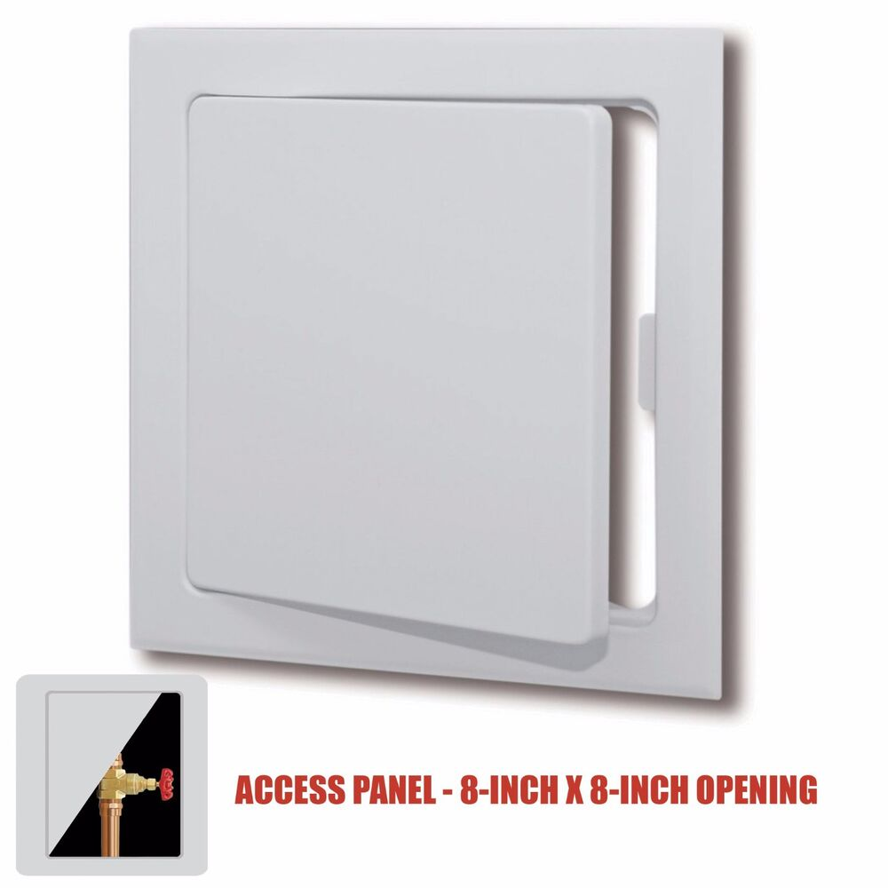 Wall Access Panel : Plastic easy snap wall or ceiling access panel for quot