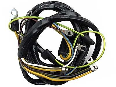 64 u00bd 65 mustang generator to regulator wiring harness  v8 65 mustang engine wiring harness 65 mustang wiring harness american autowire