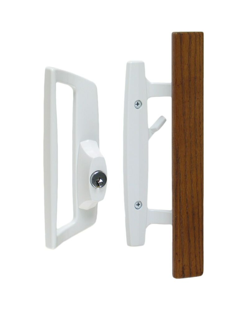 Bali Nai Sliding Patio Glass Door Pull Handle Set