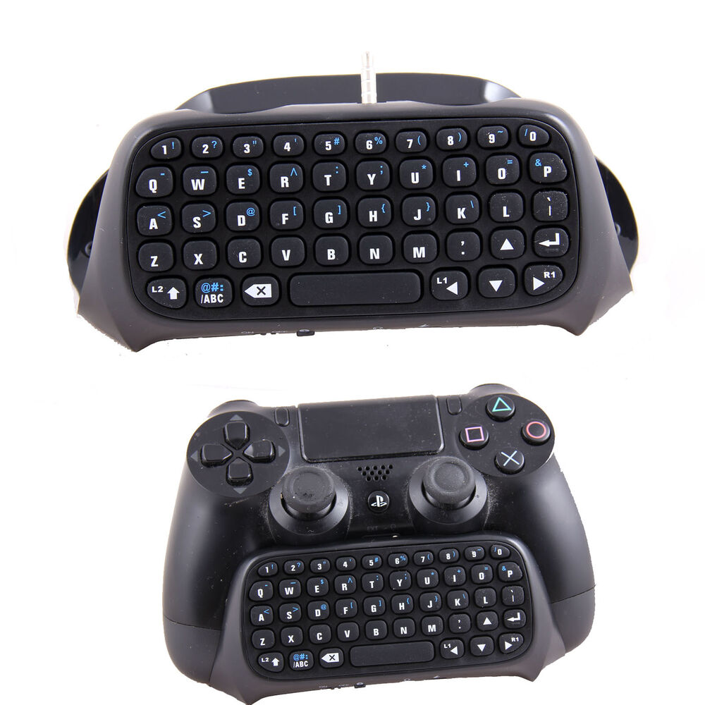 ps4 bluetooth wireless keyboard keypad for play station controller ebay. Black Bedroom Furniture Sets. Home Design Ideas