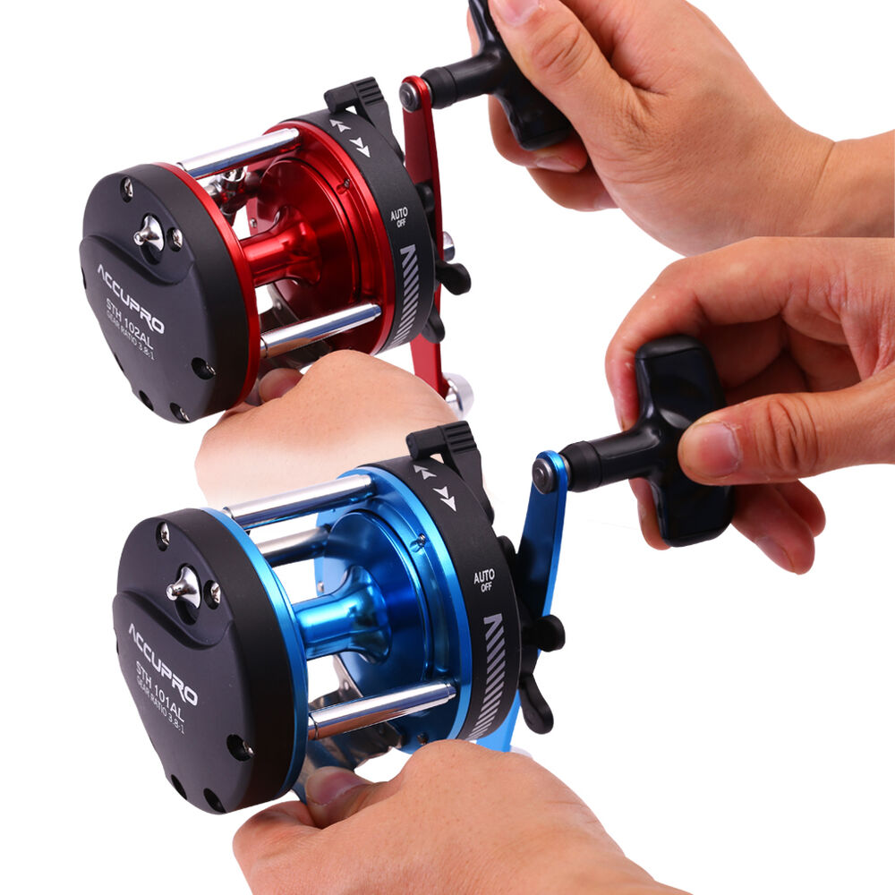 Saltwater strong trolling fishing reel 5ball baitcasting for Ebay fishing reels
