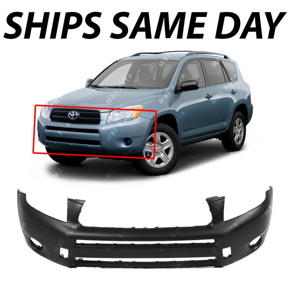 New Primered Front Bumper Cover For 2006 2007 2008