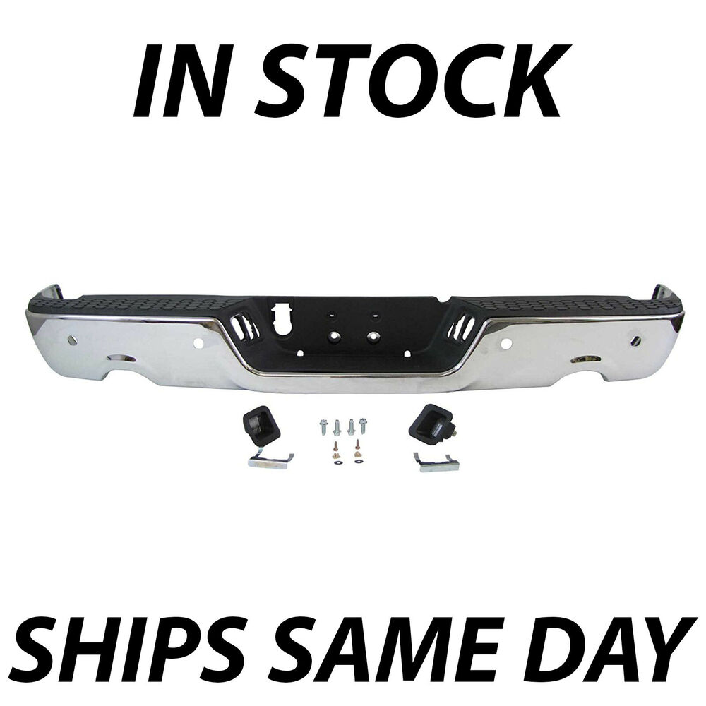 Dodge Ram Chrome Rear Bumper Ebay Autos Post