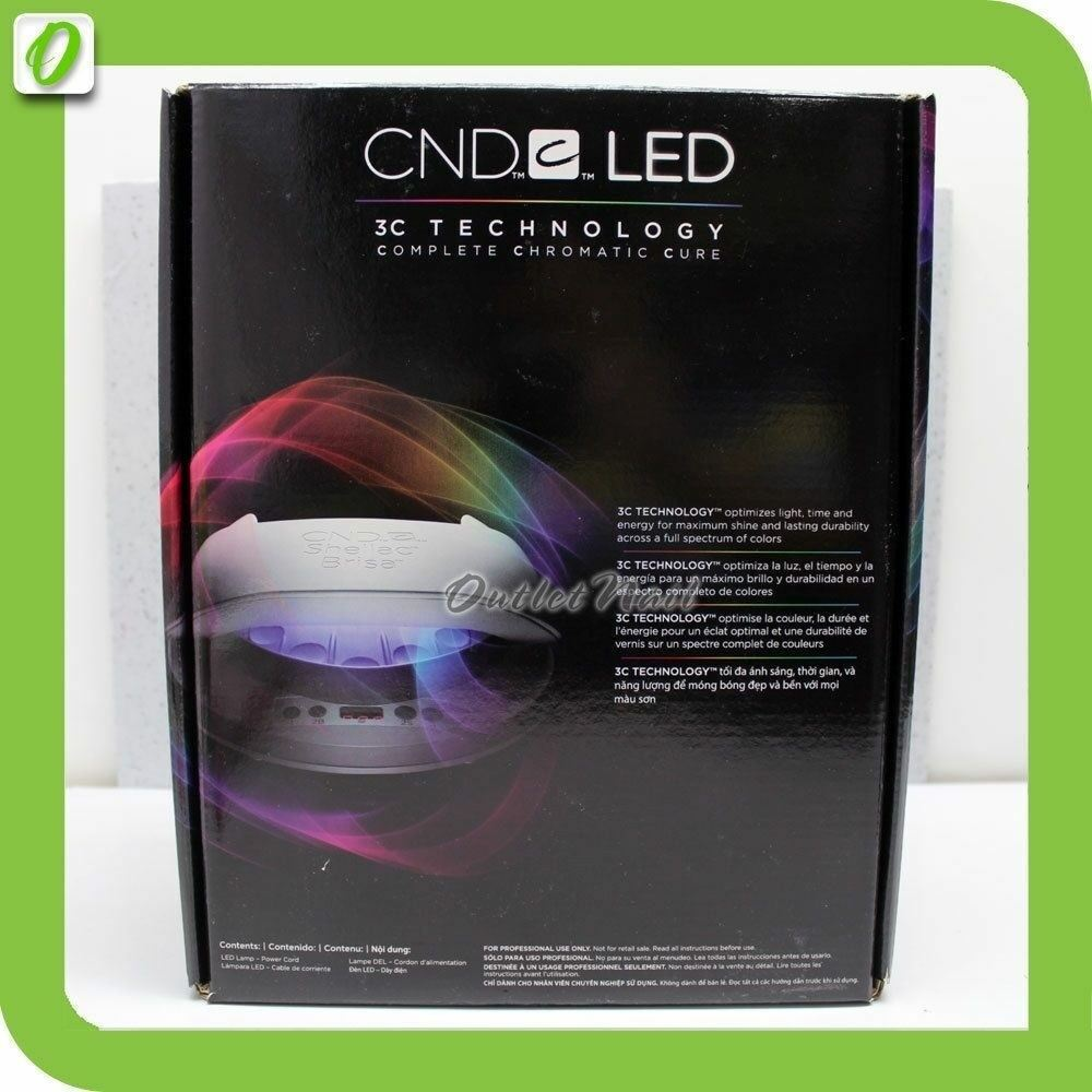 Cnd Led Light Shellac Professional Lamp Nail Dryer 3c Tech