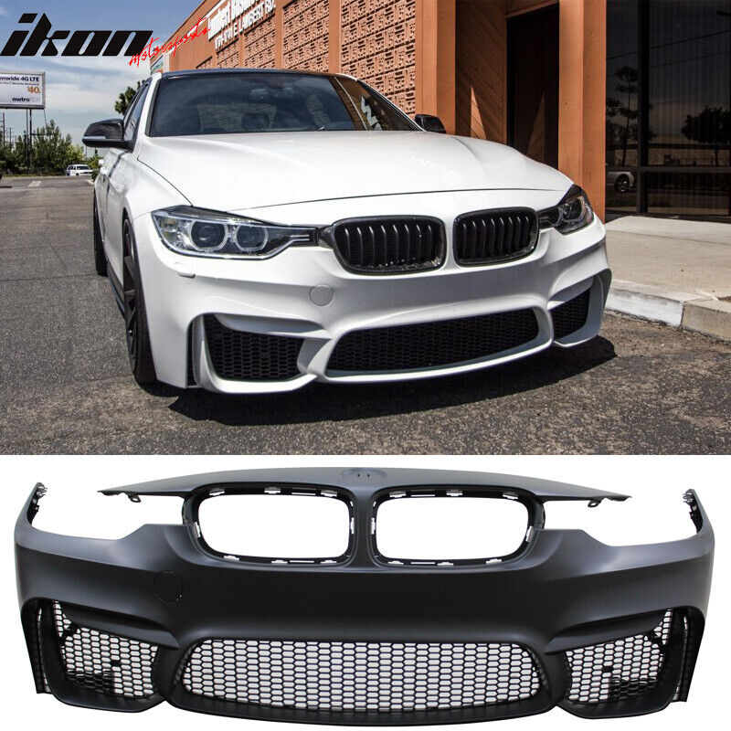 12-16 BMW F30 3 Series M3 Front Bumper Cover End