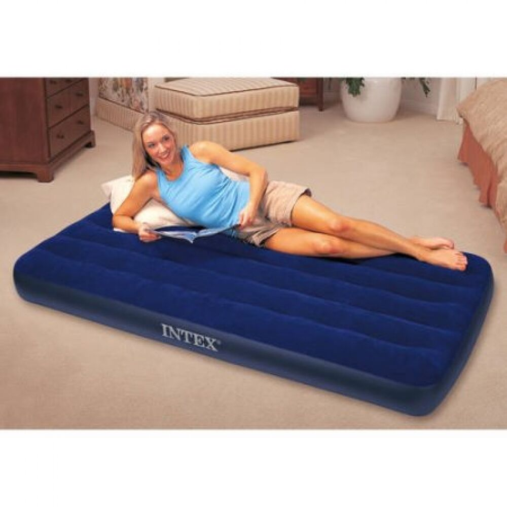 Inflatable Airbed Air Mattress Portable Camping Blow-Up ...