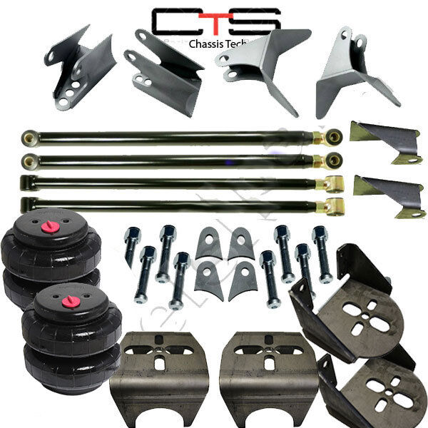 4 link suspension kit ebay weld on triangulated 4 link kit brackets 2500 bags air ride suspension 275 axle sciox Choice Image
