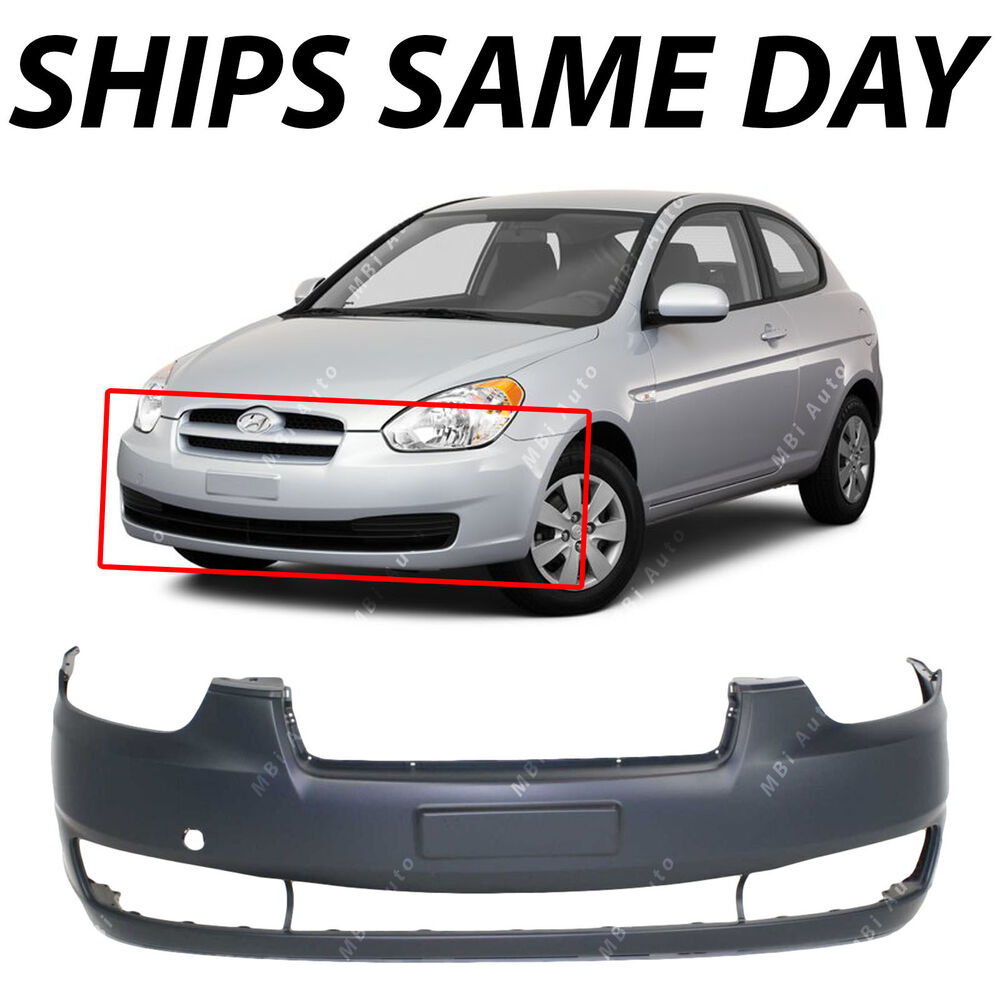 New Primered Front Bumper Cover Replacement For 2006
