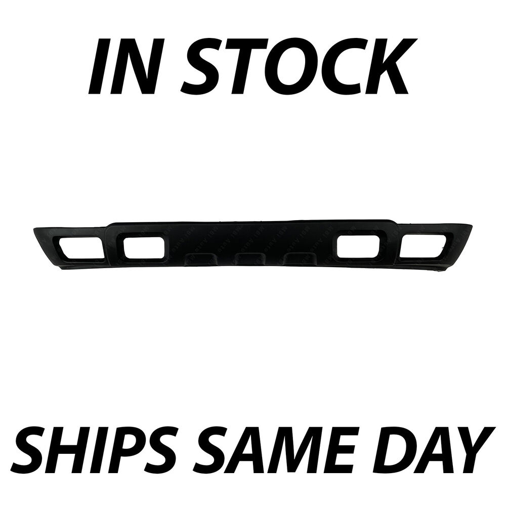 Tahoe 2004 chevy tahoe front bumper : Textured Black - Front Lower Bumper Air Deflector For 2003-2006 ...