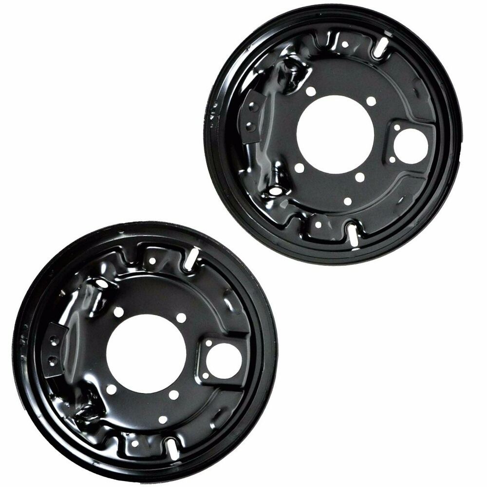 Chevy Truck Brake Backing Plate : Rear brake backing plates for chevy c k pickup suburban
