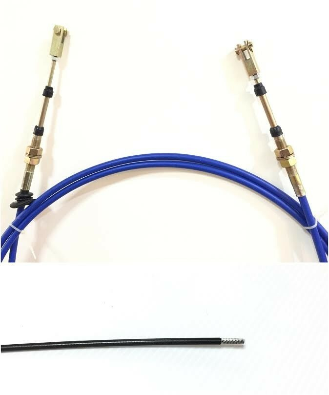 Coated inner wire Steel PTO /Dump /Push Pull Control Cable 5FT + ...
