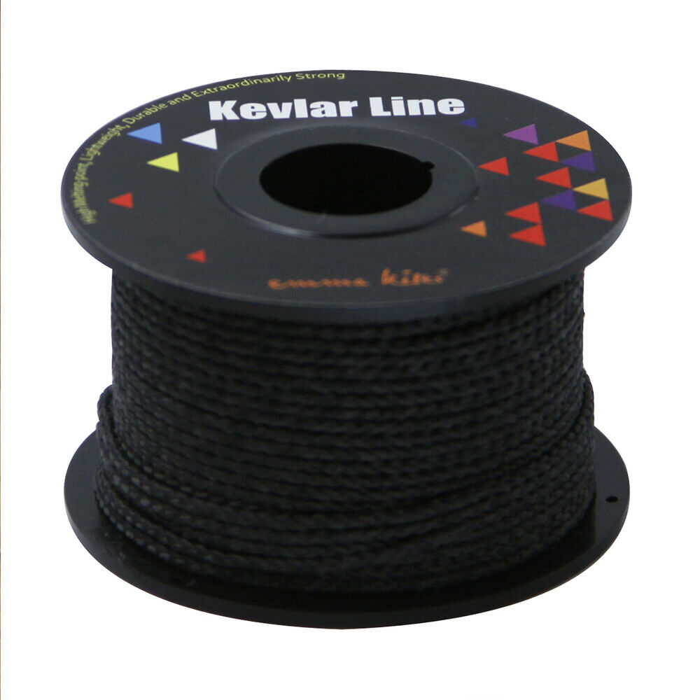 us stock 100ft test 500lb kevlar braid line string for. Black Bedroom Furniture Sets. Home Design Ideas