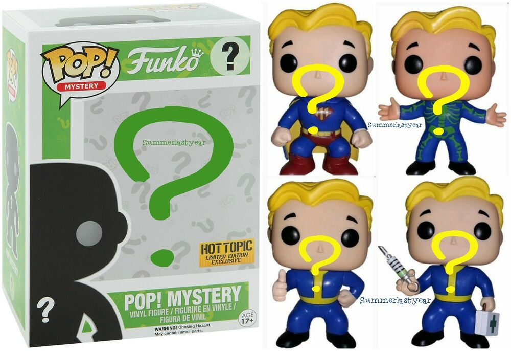 Fallout Funko Pop Hot Topic Exclusive Sealed Blind Box Ebay