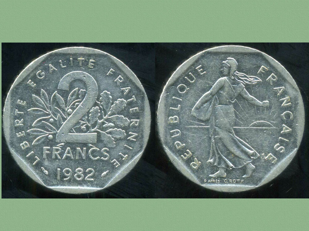 france 2 francs 1982 semeuse etat ebay. Black Bedroom Furniture Sets. Home Design Ideas
