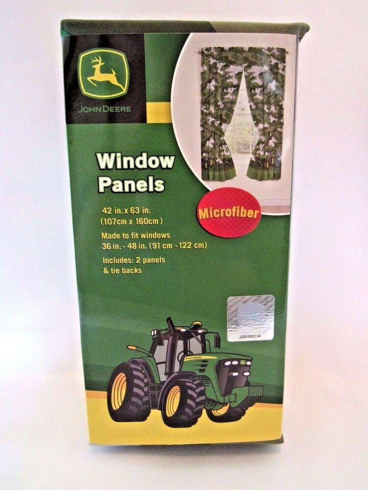 John Deere Curtain Panels