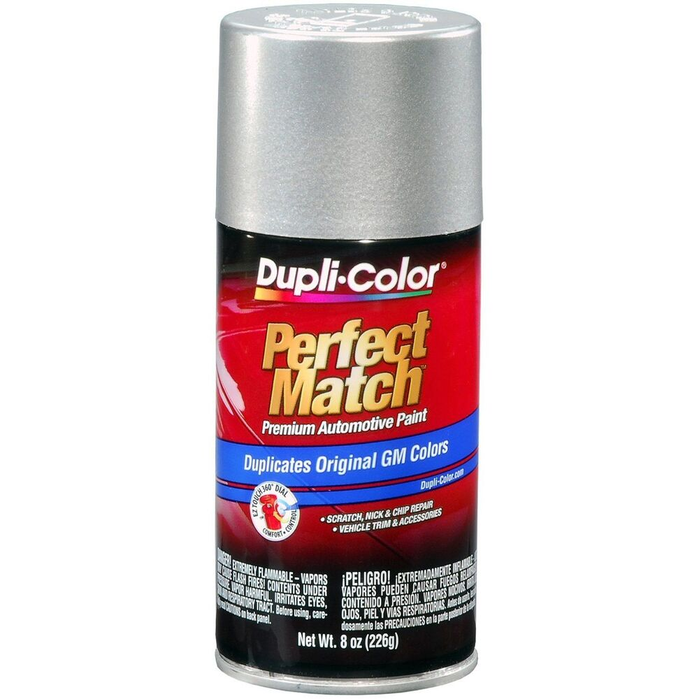 Duplicolor bgm0530 wa994l for gm code 67 tarnished silver for How to make silver paint