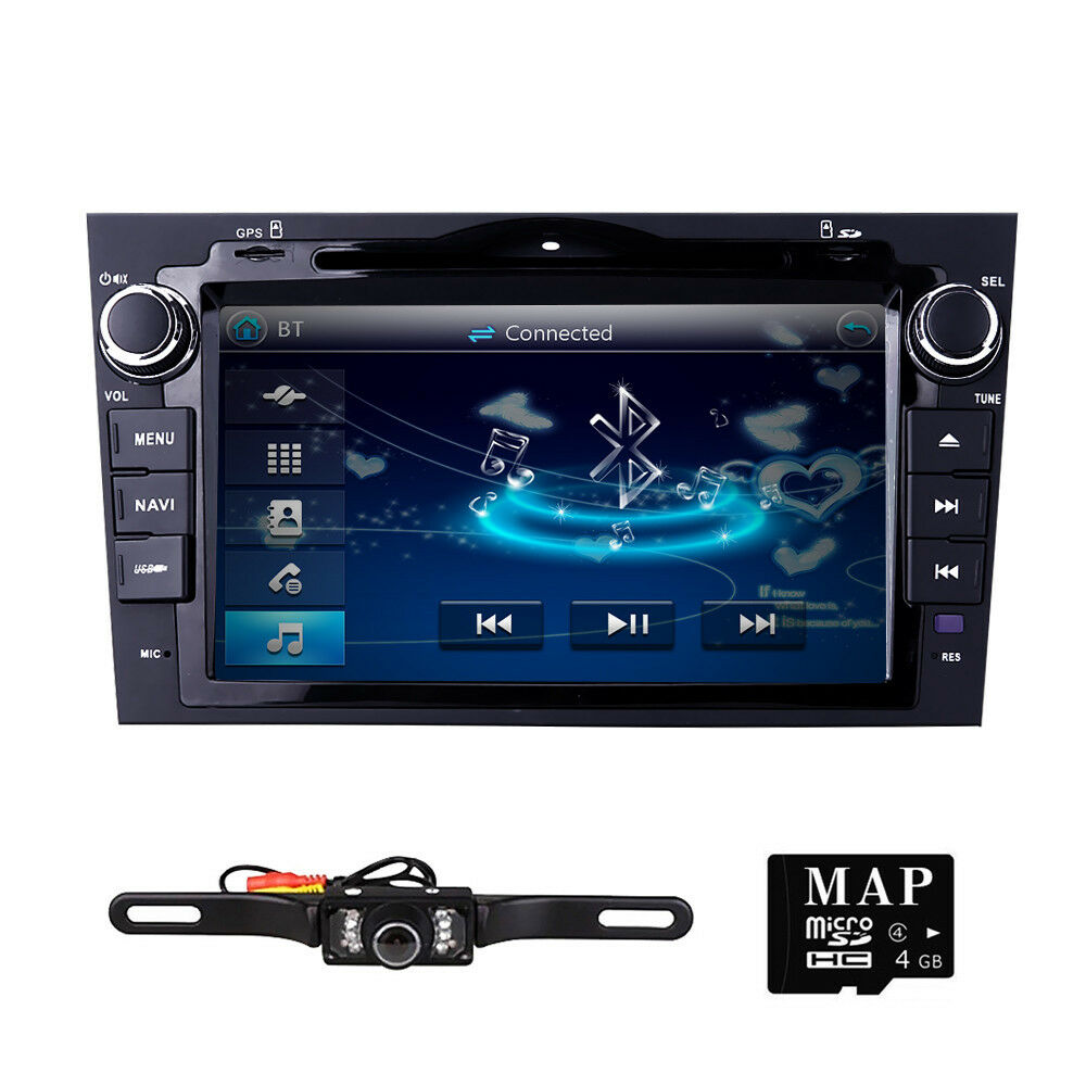 Honda Crv 2010 >> 2 DIN Car Radio DVD Player GPS Navi For 2007 2008 2009 2010 2011 Honda CRV+ CAM | eBay