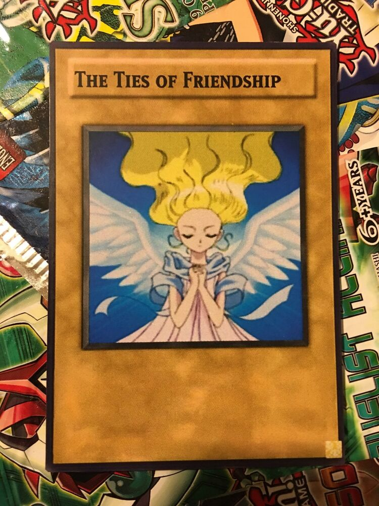 Cards Of The Day 18th March 2009: Orica Cosplay The Ties Of Friendship Custom Card!