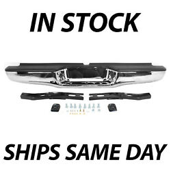 Kyпить NEW Chrome - Complete Rear Steel Bumper Assembly for 1995-2004 Toyota Tacoma на еВаy.соm