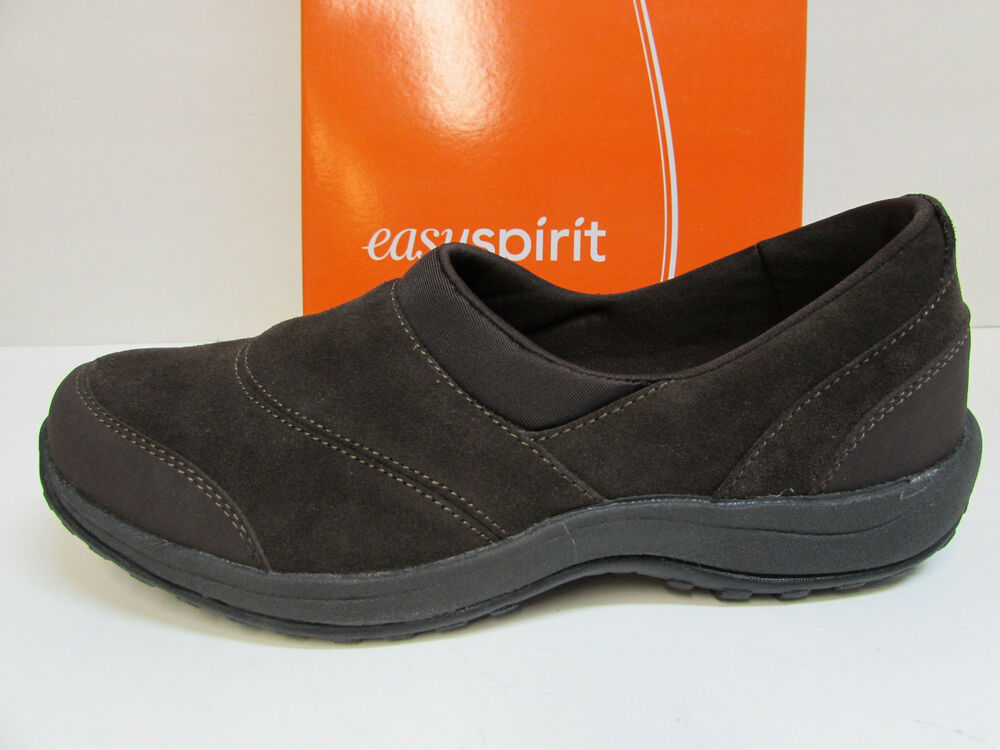 Womens Leather Shoes   Wide Slip On