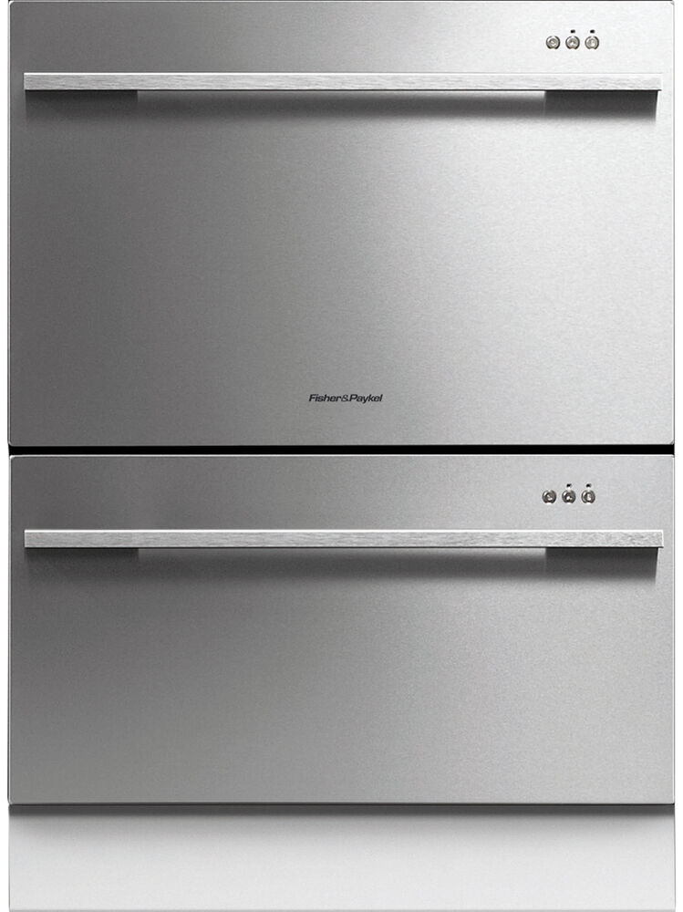 New fisher paykel dd60ddfx7 dishdrawer double dishwasher ebay - Fisher paykel dishwasher drawer reviews ...