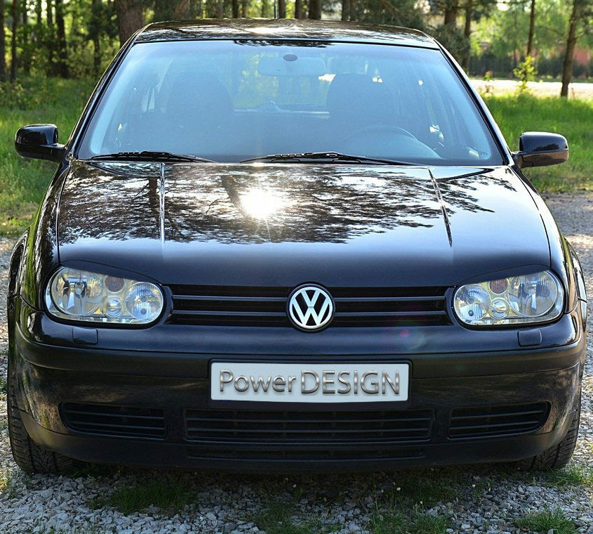 eyebrows for vw golf iv mk 4 1997 2006 headlight eyelids lids abs plastic ebay. Black Bedroom Furniture Sets. Home Design Ideas