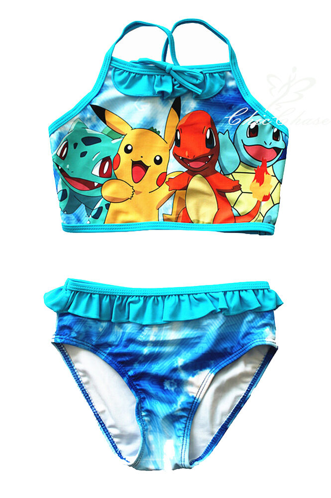 Are girl with squirtle bikini