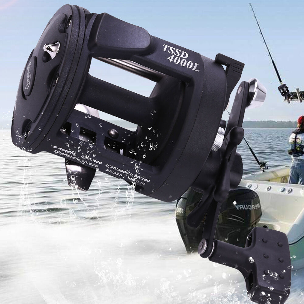 Trolling cast fishing reel tackle gear saltwater for Ocean fishing gear