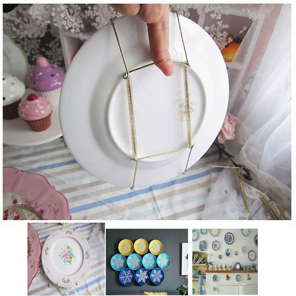 10pcs 8 Quot 14 Quot Plate Hanger Plate Dish Display Plate Hangers