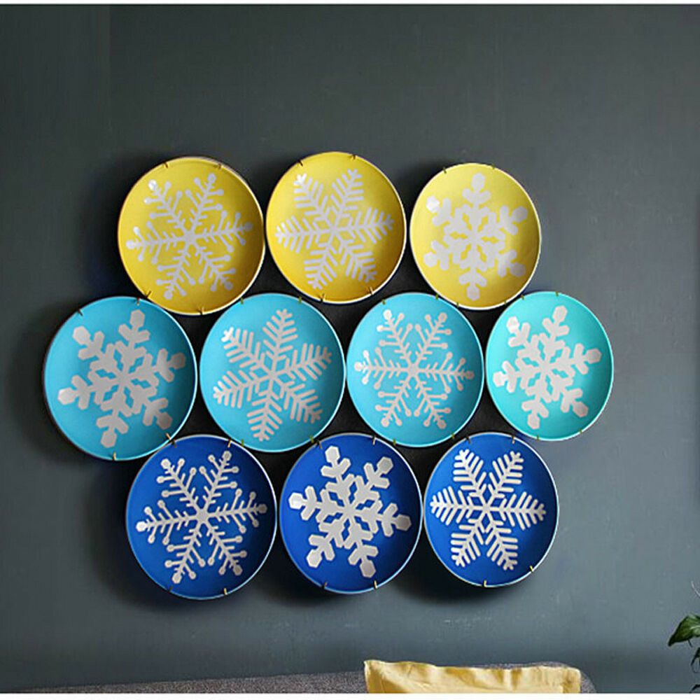 New 10pcs plate hanger dish display hangers wall decor for for Plaque decorative cuisine