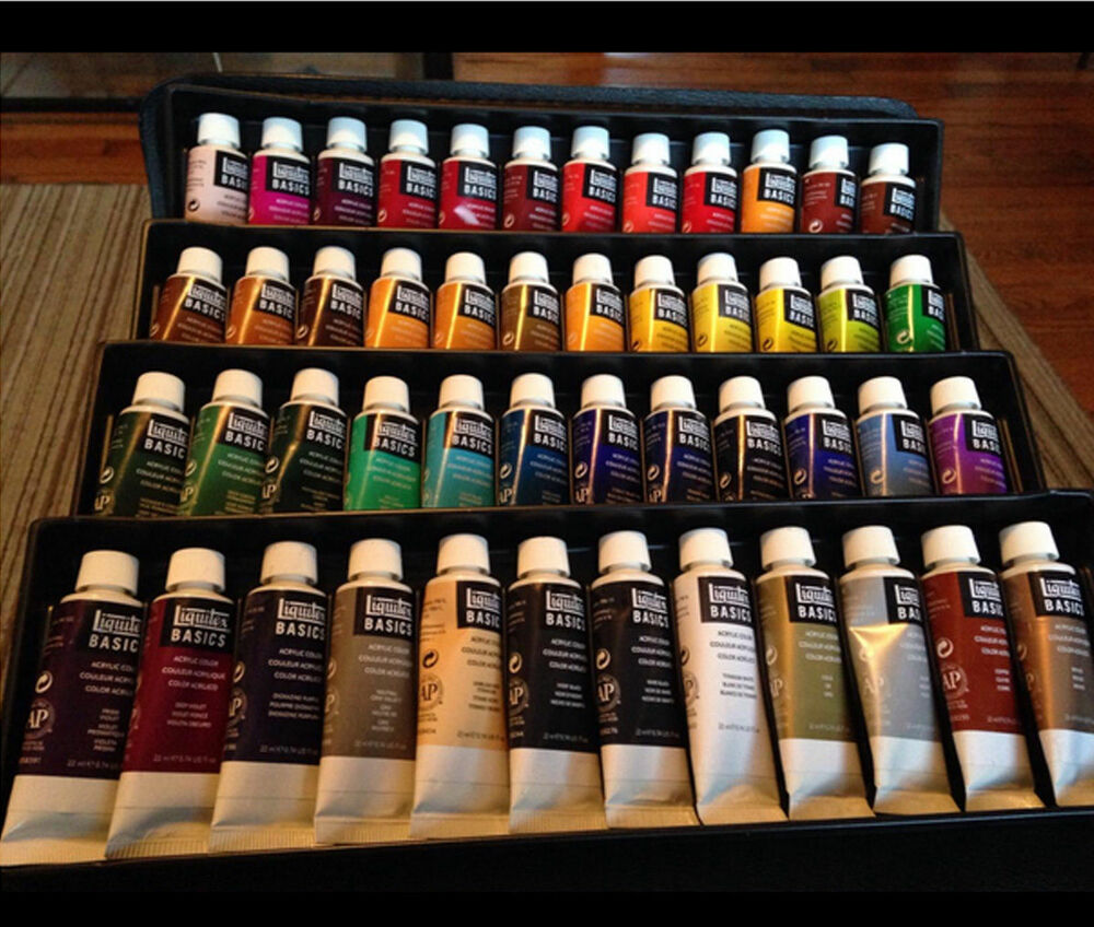 Basics Acrylic Paint Set