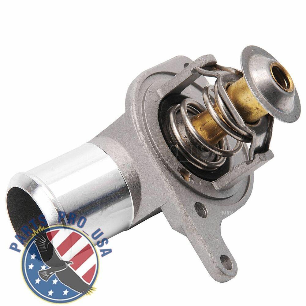 Engine Coolant Thermostat W   Housing For Chevy Gmc