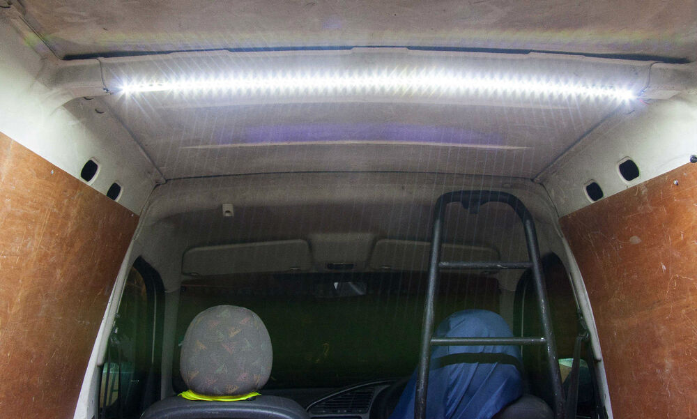 magnetic led light strip 0 5m 12v interior van loading