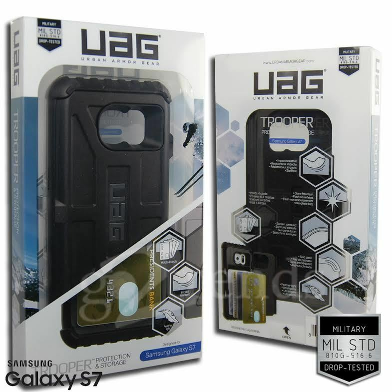 best website f17b1 88ad8 UAG Urban Armor Gear Samsung Galaxy S7 Trooper CARD Case Wallet Hard ...