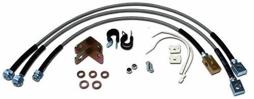 Jeep Cherokee Replacement Brake Lines : Extended stainless steel rear brake line for jeep tj
